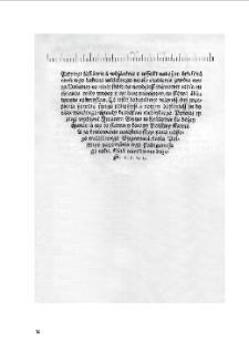 [Księgi o żywocie krześcijańskim]. Kraków, Hieronim Wietor, 1522. 4°