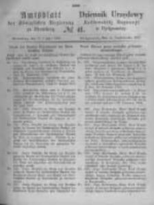 Amtsblatt der Königlichen Preussischen Regierung zu Bromberg. 1870.10.14 No.41