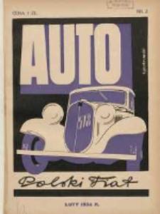 Auto: miesięcznik: organ Automobilklubu Polski oraz Klubów Afiljowanych: organe officiel de l'AutomobilKlub Polska et des clubs affiliés 1934 luty Nr2