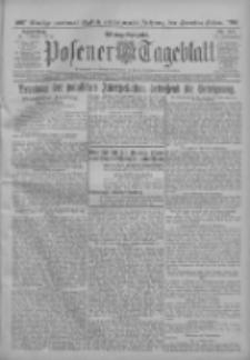 Posener Tageblatt 1912.10.31 Jg.51 Nr513