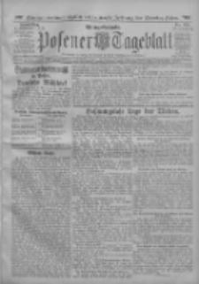 Posener Tageblatt 1912.11.07 Jg.51 Nr525