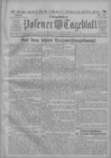 Posener Tageblatt 1912.11.11 Jg.51 Nr531