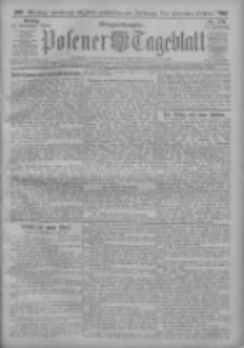 Posener Tageblatt 1912.11.15 Jg.51 Nr538