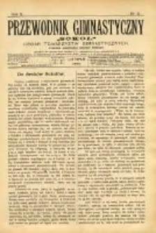 """Przewodnik Gimnastyczny """"Sokół"""": organ Towarzystw Gimnastycznych 1890.11 R.10 Nr11"""