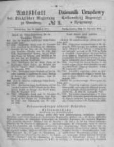 Amtsblatt der Königlichen Preussischen Regierung zu Bromberg. 1871.01.13 No.2