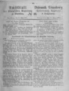 Amtsblatt der Königlichen Preussischen Regierung zu Bromberg. 1871.03.10 No.10