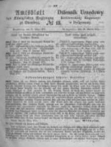 Amtsblatt der Königlichen Preussischen Regierung zu Bromberg. 1871.03.31 No.13