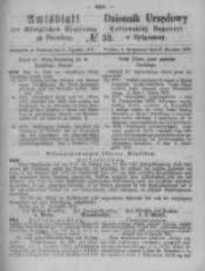 Amtsblatt der Königlichen Preussischen Regierung zu Bromberg. 1872.12.27 No.52