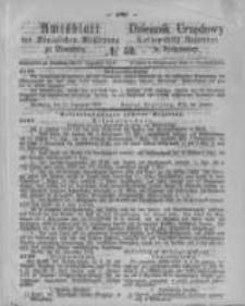 Amtsblatt der Königlichen Preussischen Regierung zu Bromberg. 1873.12.27 No.52