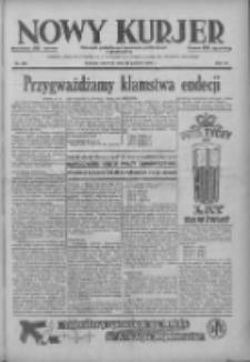 Nowy Kurjer: dziennik poświęcony sprawom politycznym i społecznym 1938.12.18 R.49 Nr289