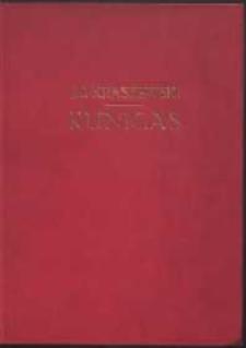 Kunigas: powieść z podań litewskich; z piętnastu drzeworytami M.E. Andriollego