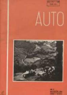 Auto: organ Automobilklubu Polski oraz Klubów Afiliowanych: organe officiel de l'AutomobilKlub Polski et des clubs affiliés 1938 wrzesień R.17 Nr8