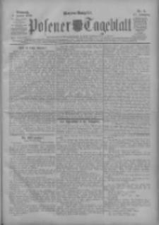 Posener Tageblatt 1908.01.08 Jg.47 Nr11