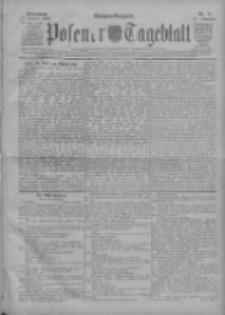Posener Tageblatt 1908.01.11 Jg.47 Nr17