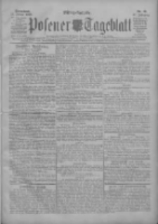 Posener Tageblatt 1908.01.11 Jg.47 Nr18