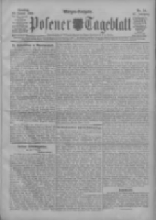 Posener Tageblatt 1908.01.12 Jg.47 Nr19