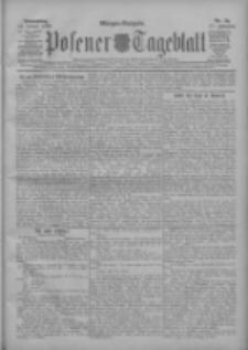 Posener Tageblatt 1908.01.16 Jg.47 Nr25