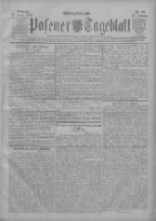 Posener Tageblatt 1908.01.22 Jg.47 Nr36