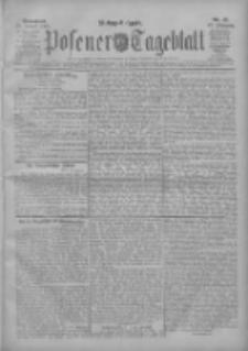 Posener Tageblatt 1908.01.25 Jg.47 Nr42