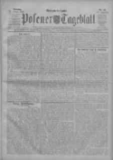 Posener Tageblatt 1908.01.26 Jg.47 Nr43