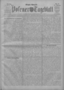 Posener Tageblatt 1908.02.09 Jg.47 Nr67
