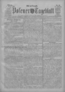 Posener Tageblatt 1908.02.19 Jg.47 Nr84