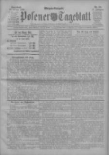 Posener Tageblatt 1908.02.22 Jg.47 Nr89