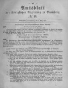 Amtsblatt der Königlichen Preussischen Regierung zu Bromberg. 1878.03.08 No.10