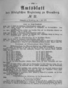 Amtsblatt der Königlichen Preussischen Regierung zu Bromberg. 1878.07.05 No.27