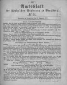 Amtsblatt der Königlichen Preussischen Regierung zu Bromberg. 1878.12.20 No.51