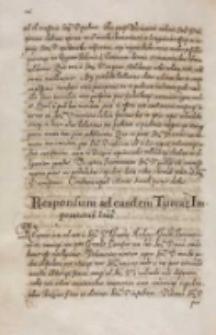 Responsum [Sigismundi III] ad easdem Turcarum imperatoris [Ahmedi I] litteras, Warszawa 18.03.1614