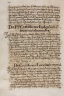 Do [...] commissarzow bydgoskich z strony niebespieczenstwa [król Zygmunt III], [1614?]