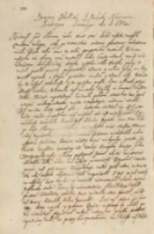 Przemowa [...] Jakuba Sobieskiego kraiczego koronnego do KJMci [Zygmunta III 1628]