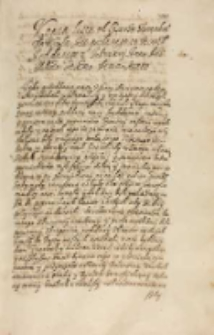 Copia listu od cesarza tureckiego do krola [...] [Zygmunta III] posłanego 18 Decembris a oddanego 2 February Anno Dni Millesimo Sexcentesimo Decimo sexto