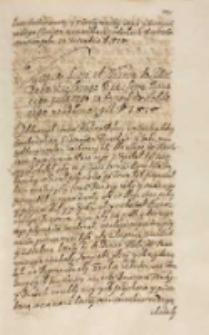 Kopia listu od wezyra do [...] [Feliksa] Kryskiego kanclerza koronnego posłanego 18 Decembris a oddanego 21 February A. D. 1616