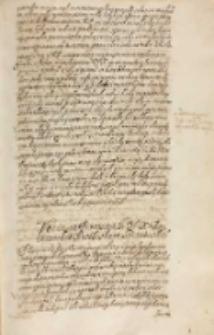 Votum na propositią [...] [Wojciecha] Baranowskiego arcibiskupa gnieznienskiego [3.12.1613]