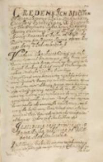 Instructia naypierwsza tym ze panom posłom publiczna od JKM [Zygmunta III] dana spod Smolenska [1609]