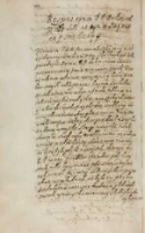 Respons tymze [...] posłom od krola [...] [Zygmunta III] na tymze seymie na pismie dany [XII 1613]
