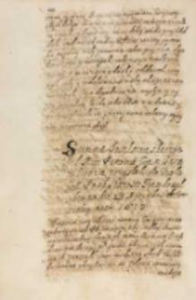 Summa poselstwa s ktorym [...] commissarze ze Lwowa przysłali do krola [...] [Zygmunta III] staroste trembowelskiego die 23 Septembris do Warszawy Anno 1613