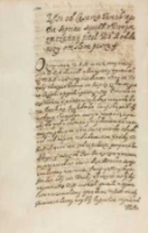 List od ceasarza tureckiego [Ahmeda I] die septima Septembris w ktorym zwiczainy tituł KJM [Zygmuntowi III] oddawszy w te słowa pisze, Konstantynopol 07.09.1614