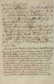 Przemowa woiewodzica lubelskiego, marszałka poselskiego [Jakuba Sobieskiego] do krola [...] Zygmunta III przy witaniu 24.01.1623