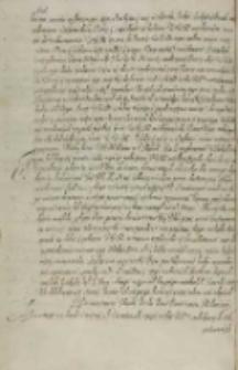 [Mikołaj Zebrzydowski do Zygmunta III o zachowanie praw i wolności szlacheckich, b. m. d. 1606]