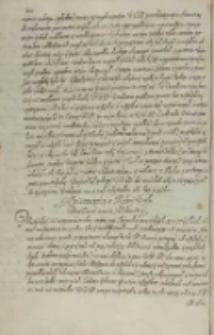 [Mikołaj Zebrzydowski do Zygmunta III], Skawina 23.02.1606