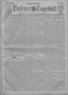 Posener Tageblatt 1908.08.22 Jg.47 Nr393