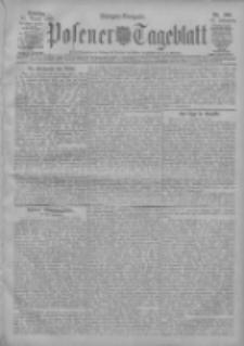 Posener Tageblatt 1908.08.23 Jg.47 Nr395