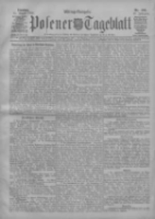 Posener Tageblatt 1908.08.25 Jg.47 Nr398
