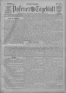 Posener Tageblatt 1908.09.01 Jg.47 Nr409