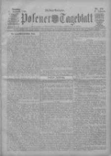 Posener Tageblatt 1908.09.15 Jg.47 Nr434