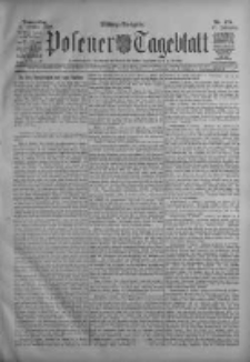 Posener Tageblatt 1908.10.08 Jg.47 Nr474
