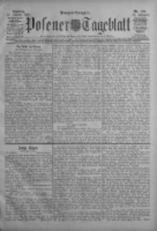 Posener Tageblatt 1908.10.20 Jg.47 Nr493
